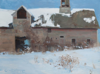 tj-cunningham-154-many-winters-now-18-x-24-inches-oil-on-an-ampersand-gesso-panel-painted-from-life-in-vermont-nov-2014