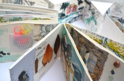 art workshop_art retreat_shelley rhodes_mixed media retreat