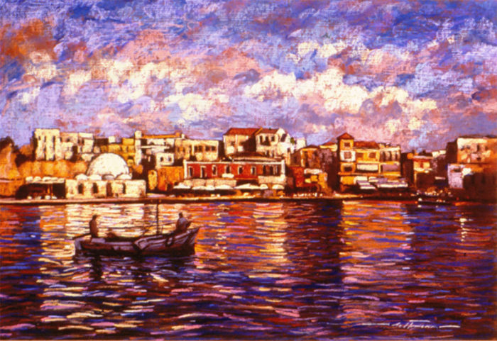 The Old Harbor of Chania