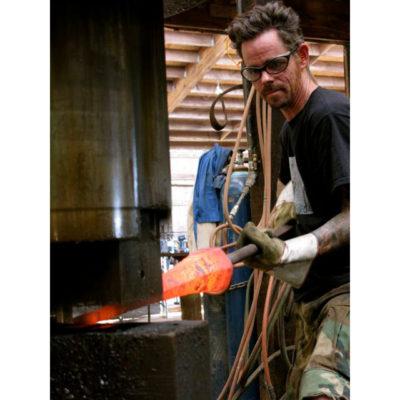 Peters Valley Blacksmithing Mark Krause 1