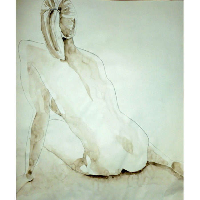 Peters Valley Life Drawing Jane Brennan 1