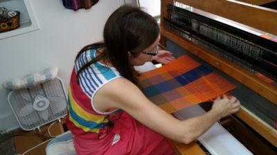 Peters Valley Weaving Daryl Lancaster b