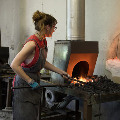 Peters Valley Blacksmithing