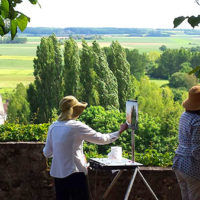 Plein Air Painting Holidays in the Loire Valley, France