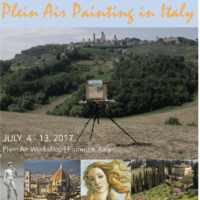 INTO THE SOUL OF FLORENCE – Plein Air Painting in Tuscany