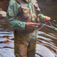 TJ Cunningham Paints Figures From Life, Outdoors – Accept the Challenge!