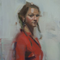 David Shevlino Paints the Clothed Figure