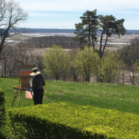 Etruscan Places Painting the Salt Marshes of Ipswich MA