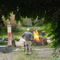 Pit Firing with No Borders