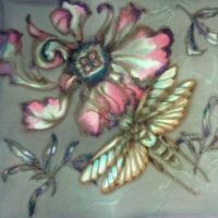 Color Studies on Silk: Moths & Butterflies