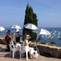 8-Day watercolor workshop in Barcelona and Costa Brava, Spain with artist Gary Tucker