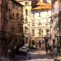 8-Day watercolor workshop in Provence, France with artist Vald Yeliseyev
