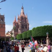 5 Paintings in 5 Days in San Miguel de Allende, Mexico