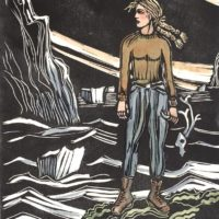 Illustration with Linoleum Printmaking Workshop
