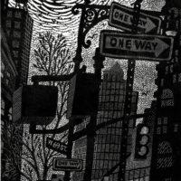 The Black & White Linocut: Exploring Texture, Value, Contrast Workshop
