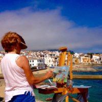 Watercolor Workshop in Costa Brava, Spain with artists Howard Friedland and Susan Blackwood