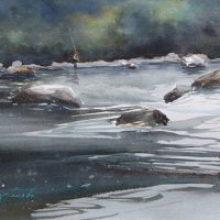 Watercolor Workshop with Keiko Tanabe – Keep It Simple and Strong