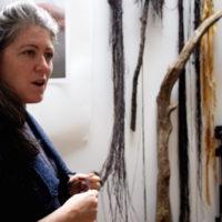 Abstraction Workshop with Nuala Clarke at The Ballinglen Arts Foundation, Ireland