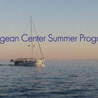THE AEGEAN SUMMER WORKSHOP PROGRAM