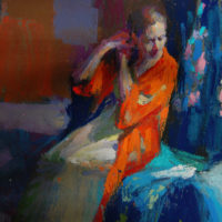 """THE """"Clothed"""" FIGURE IN PASTELS – MARGARET DYER"""