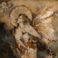 Fractured Angels of Italy – Create fresco-like paintings on wood and fabric inspired by the angels of Italy