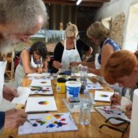 Drawing & Painting Workshop with Cooking Classes