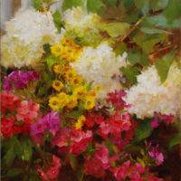 Painting the Chaos in your Garden with Kathy Anderson