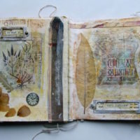 Storytelling with Collage: Roxanne Evans Stout