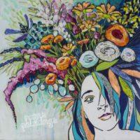 Paper-Paintings Collage Workshop: Elizabeth St. Hilaire