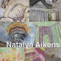 Mixed Media/Stitch Art : Nafpolio, Greece