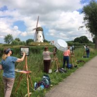 BELGIUM (Bruges), HOLLAND – Watercolor Painting Workshop with Evelyn Dunphy