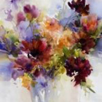 Janet Rogers – Expressive Watercolors: Flowers, Faces and Figures
