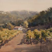 FRANK EBER    'Atmospheric Watercolors'