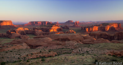 Hunts Mesa in Monument Valley