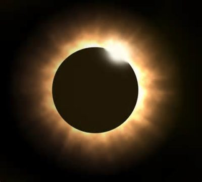 Eclipse Yellowstone national Park, Idaho