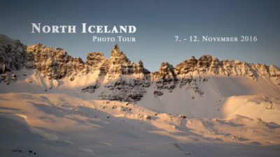 North Iceland Photo Tour 7.11. - 12.11. 2016