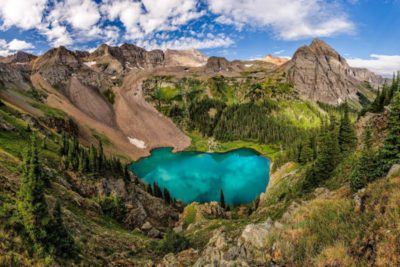 Blue Lakes Wide View