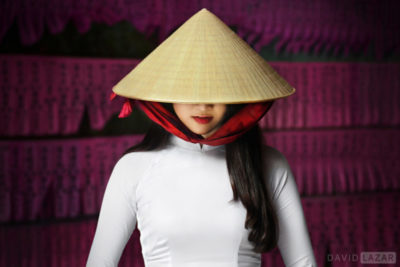 David Lazar image of beautiful Vietnam girl taken on photo tour workshop