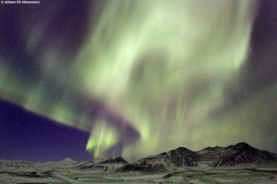 Aurora Hnappad, Iceland © Jóhann Óli Hilmarsson