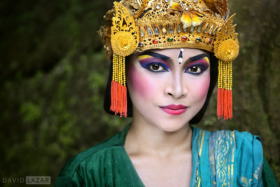 David Lazar image of Legong dancer on Bali, Indonesia