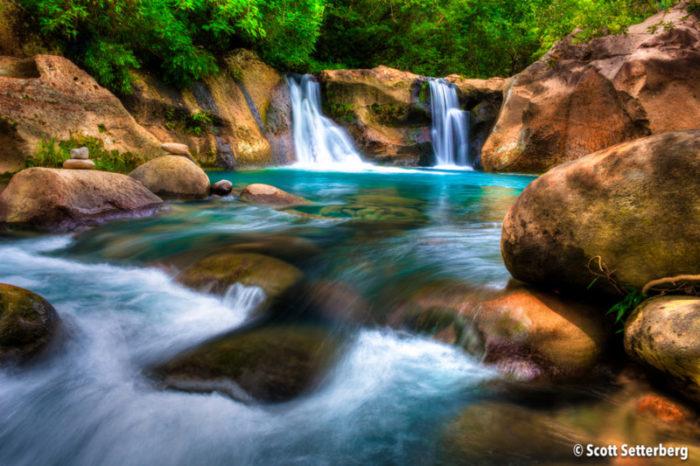 Los Chorreras Waterfalls Costa Rica