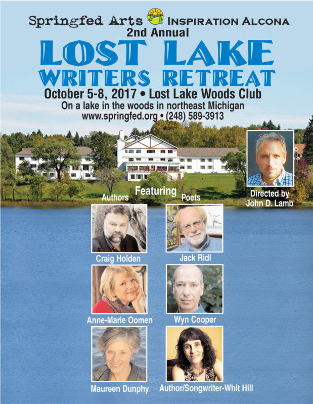 Lost Lake Writer's Retreat  Poster17