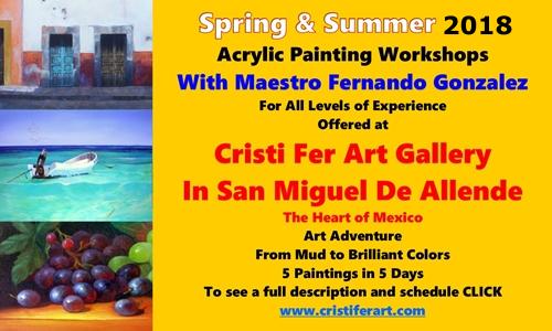 art workshops, tours, retreats, courses, classes & festivals