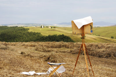 painting workshop in Italy