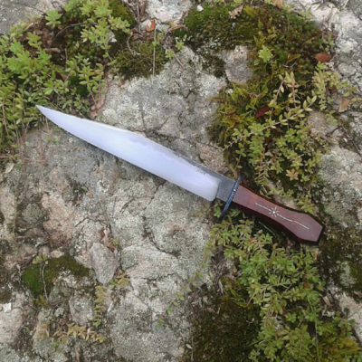Peters Valley Blacksmithing Mace Vitale Bowie 1a