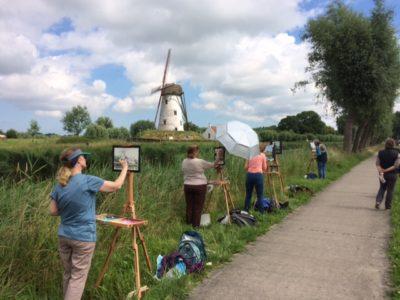 Belgium Painters mill