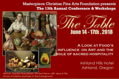 Masterpiece Christian Artist Conference June 14 - 17th, 2018 in Ashland Oregon