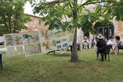 ¨Painting workshop Tuscany Italy