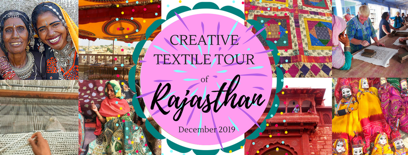 Creative textile tour of Rajasthan - FB cover