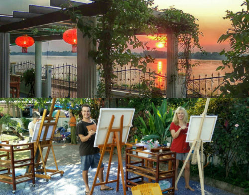 Thailand Painting Holidays